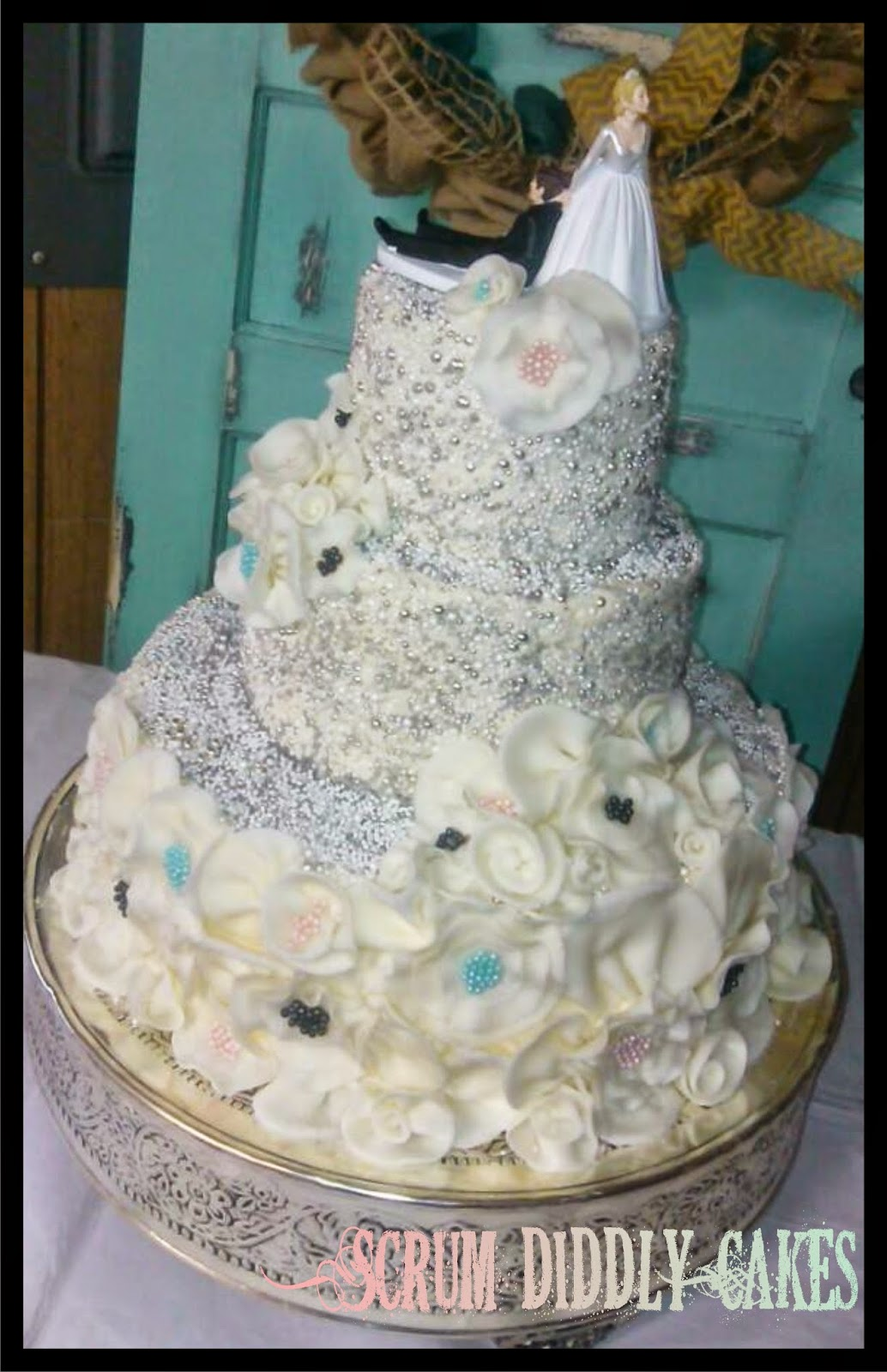 Scrum Diddly Cakes: Wedding Cakes