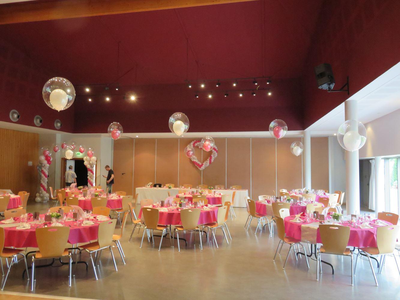 Id et photo d coration mariage deco ballon mariage deco salle pour mariage deco mariage - Decoration de ballon pour mariage ...