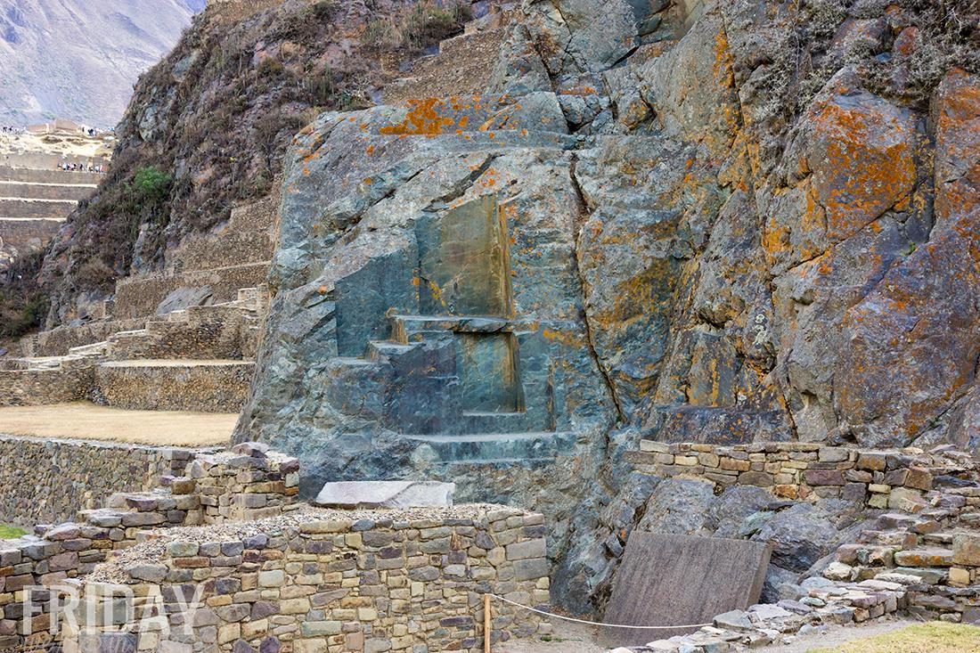 Ollantaytambo Peruvian Incan Ruins