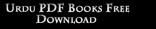 Urdu Books Free Download