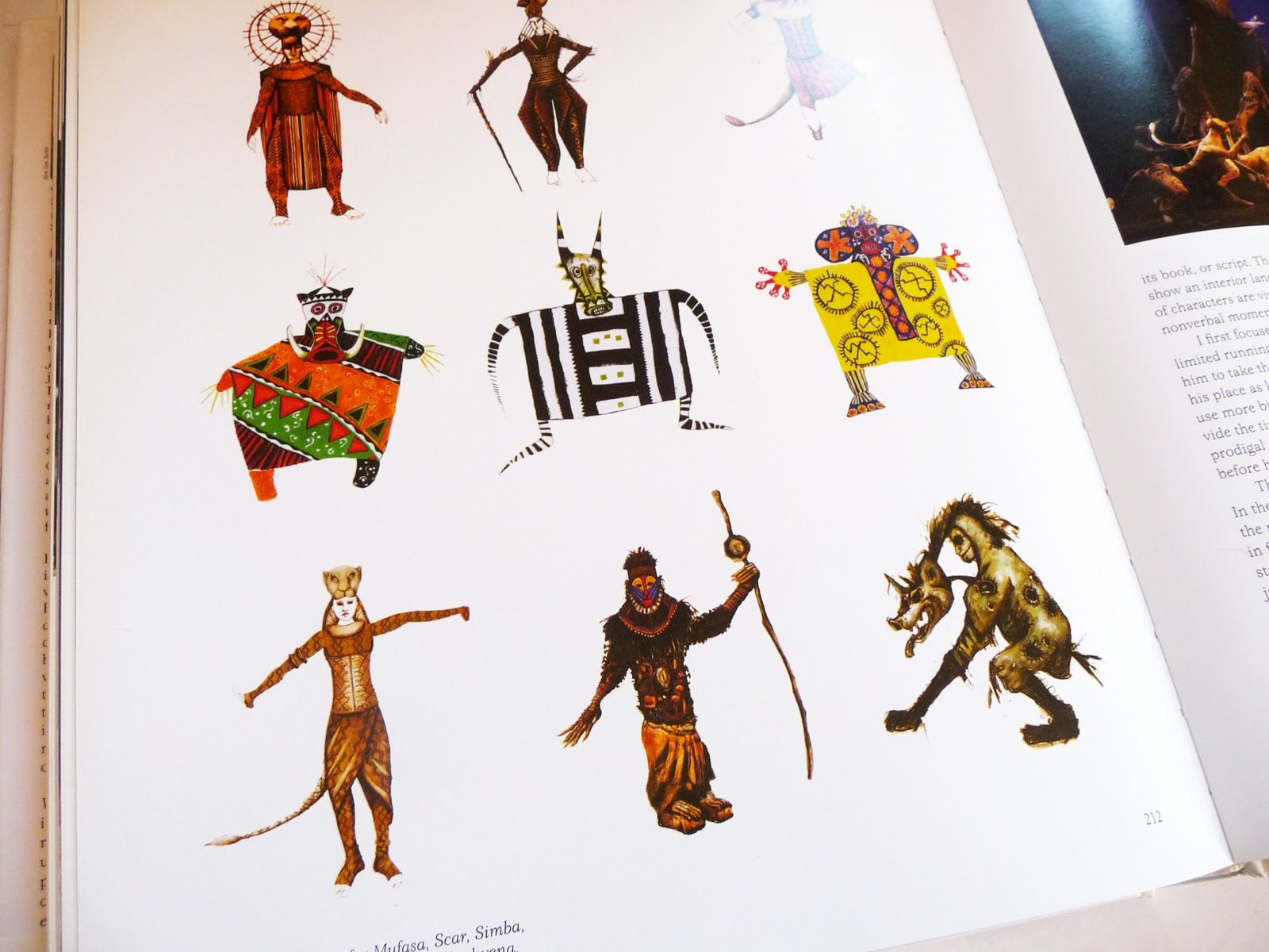 Character Design Lion King : To galvanize julie taymor playing with fire