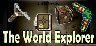 The World Explorer Mod para Minecraft 1.7.10