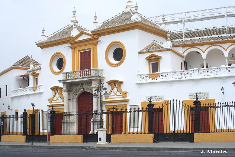 entrada plaza toro sevilla: