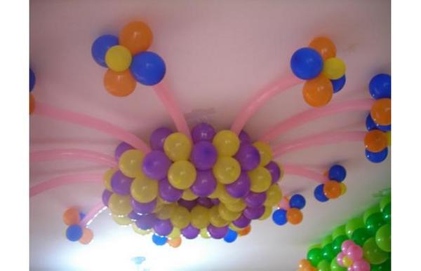 Arreglos con globos para fiestas fiestas y todo eventos for Como hacer decoracion con globos