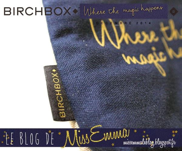 Birchbox - Decembre 2014