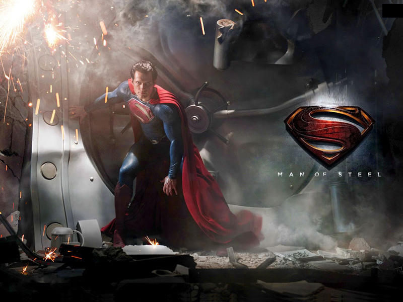 Wallpaper Man of Steel (Superman)