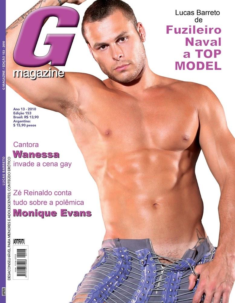 Lucas Barreto posou para a G Magazine aos 22 anos