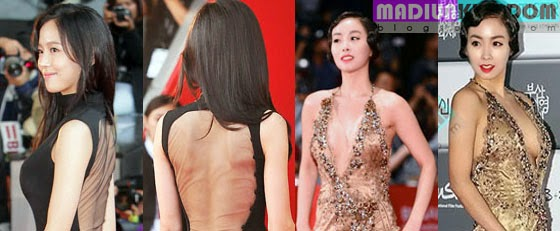 Kang Hanna and han soo an hot Foto Hot: Artis Korea Han So Ah dan Kang Hanna di International Film Festival