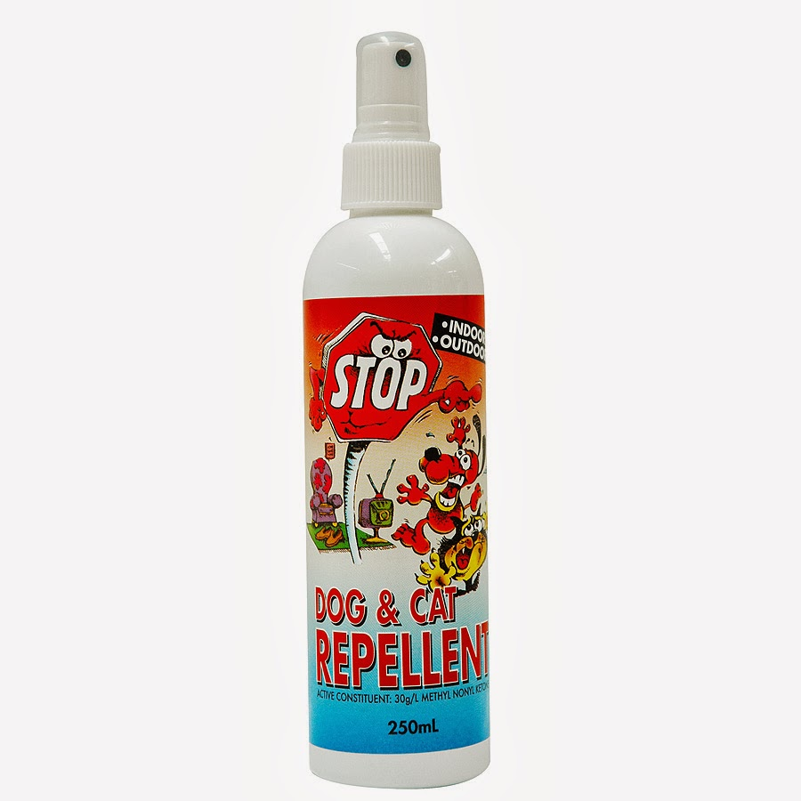 Living In The Land Of Oz: Natural Dog Repellent
