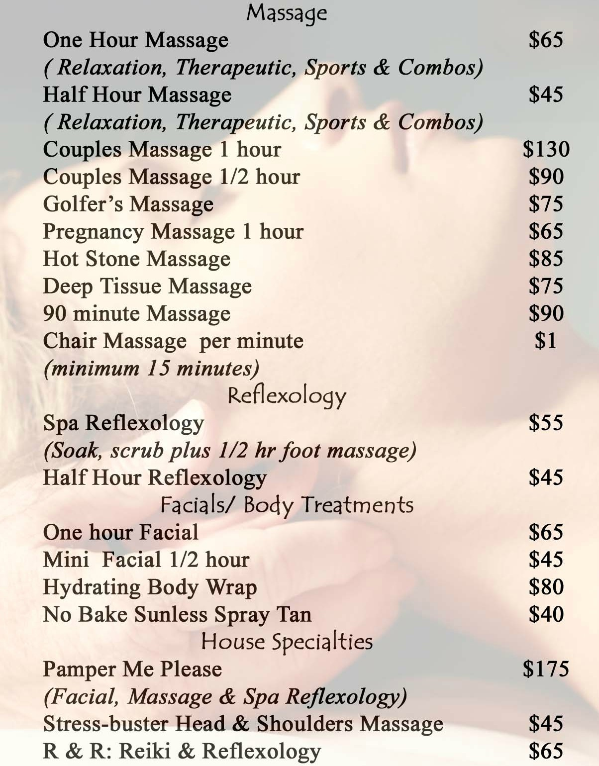 Spa Menu Templates Pictures to Pin PinsDaddy – Sample Spa Menu Template