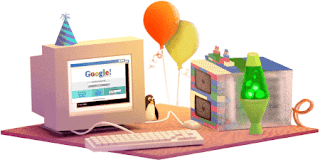 يحتفل محرك البحث الشهير, قوقل Google