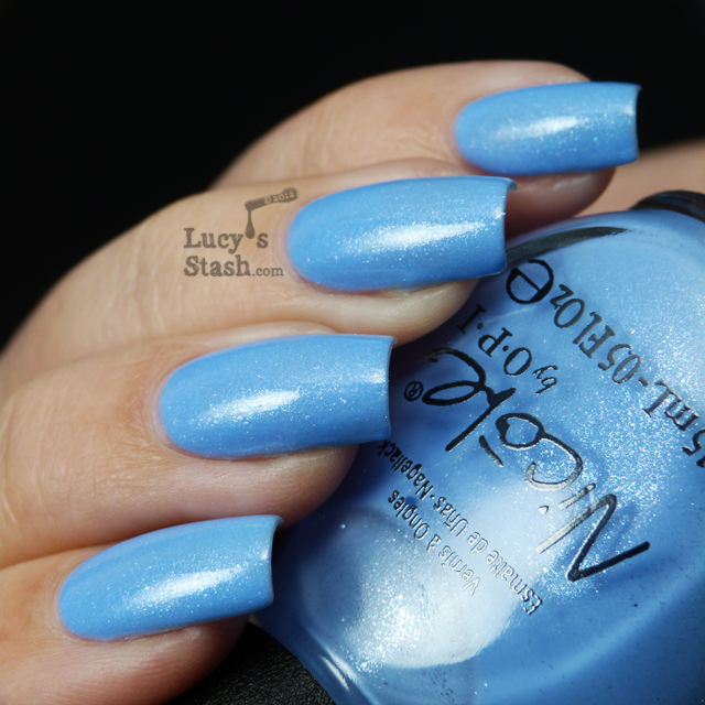 Lucy's Stash - Nicole by OPI Stand By Your Manny