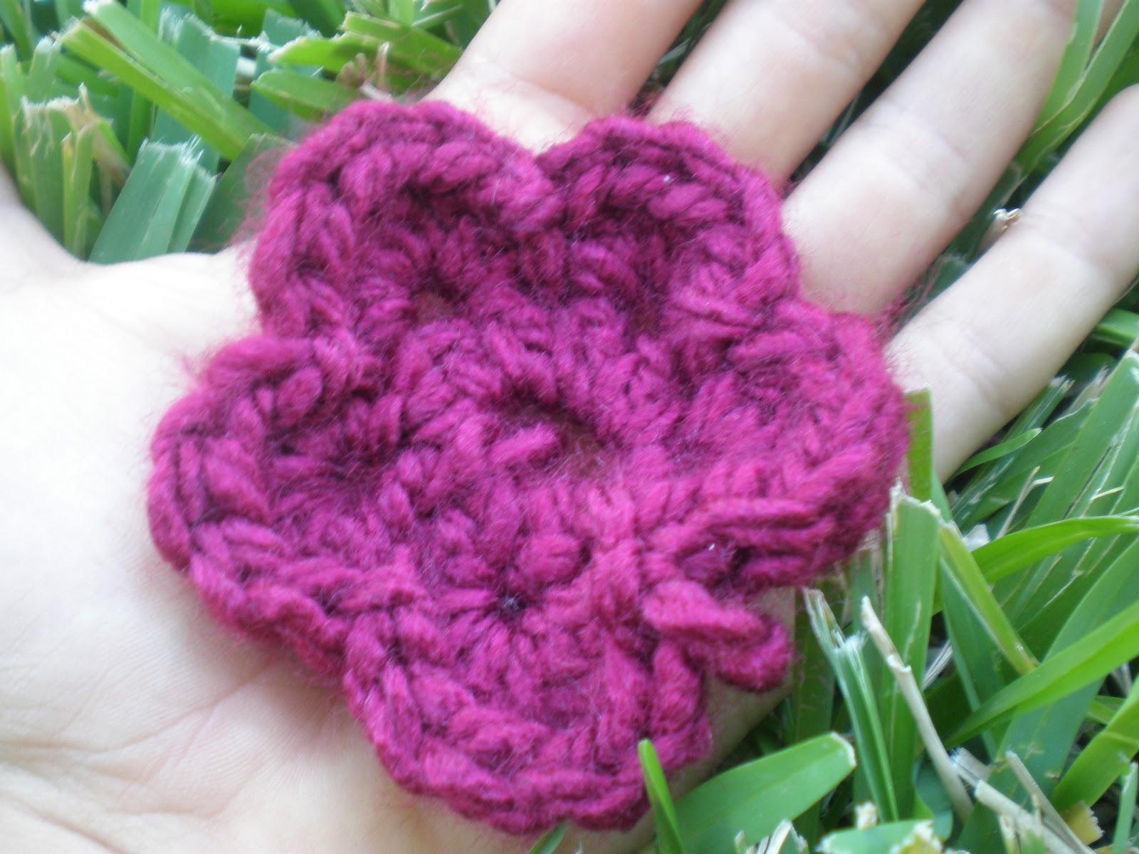 RainbowZbra Crochet Flower tutorial