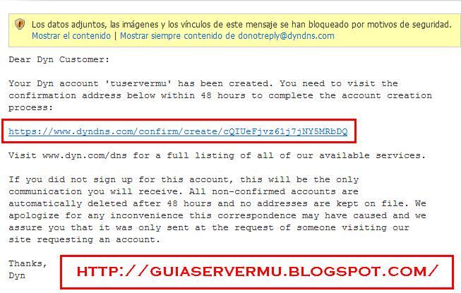 Confirmando registro via email