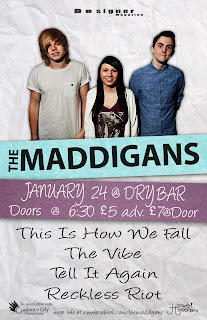 The Maddigans at Dry Bar Manchester