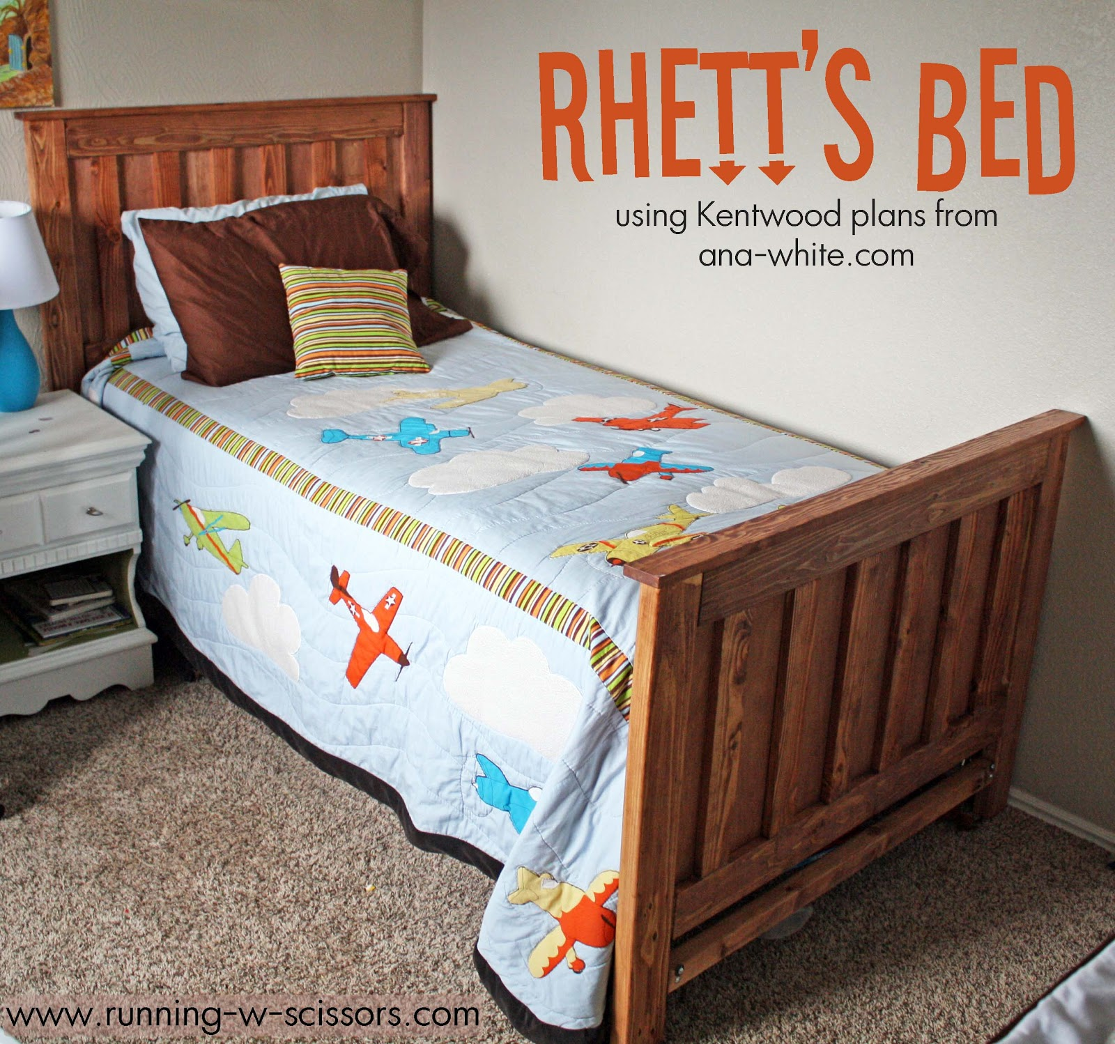 Running With Scissors: Rhett\'s Kentwood Bed