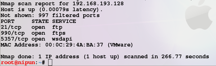 how to run nmap scan
