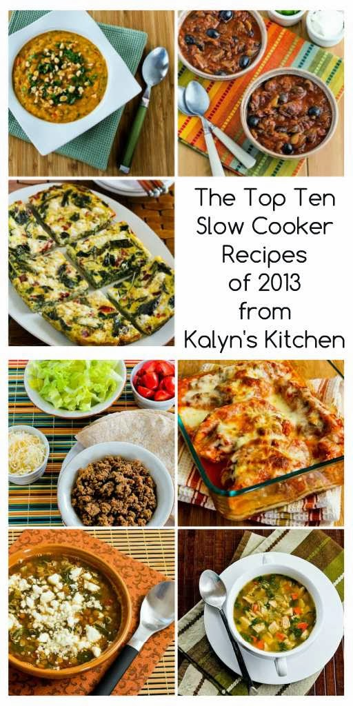 The Top Ten Slow Cooker Recipes of 2013 from Kalyn's Kitchen