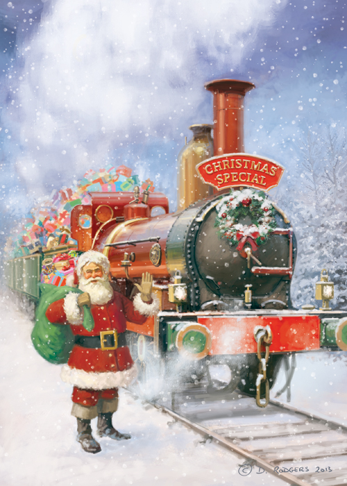 Daniel Rodgers Christmas Special Steam Engine