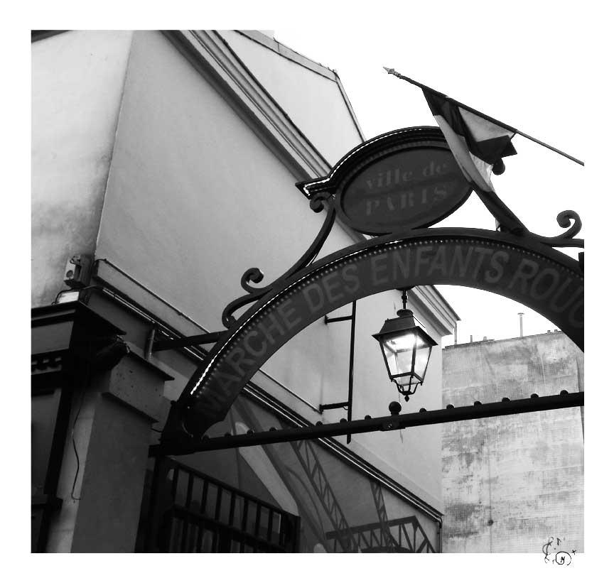 Paris en noir et blanc 6