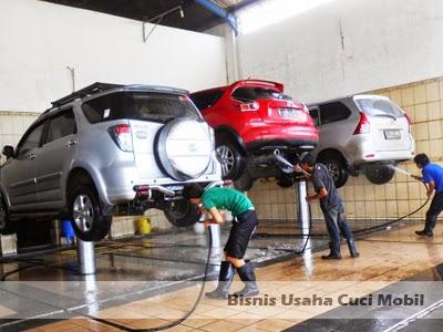 bisnis usaha cuci mobil