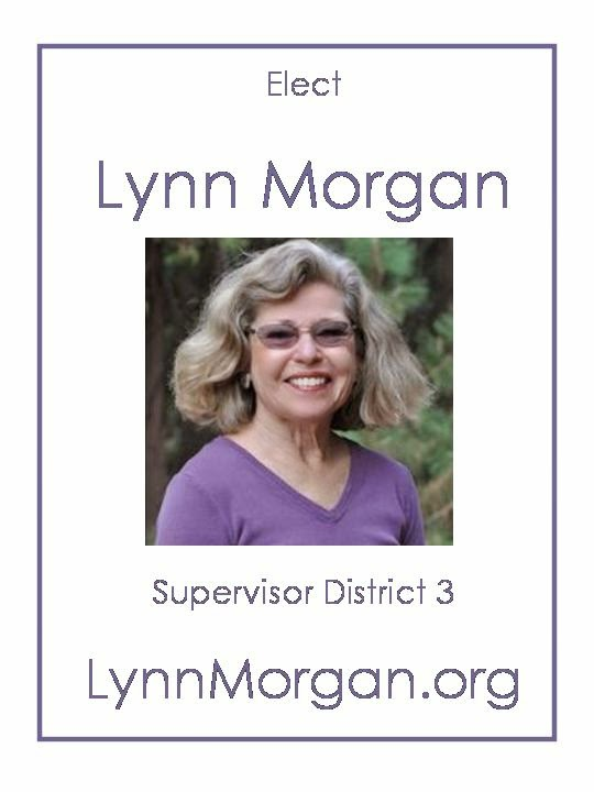 Lynn Morgan for District 3 Supervisor