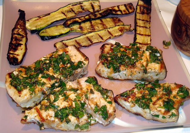 Herb-baked Swordfish Recipe — Dishmaps