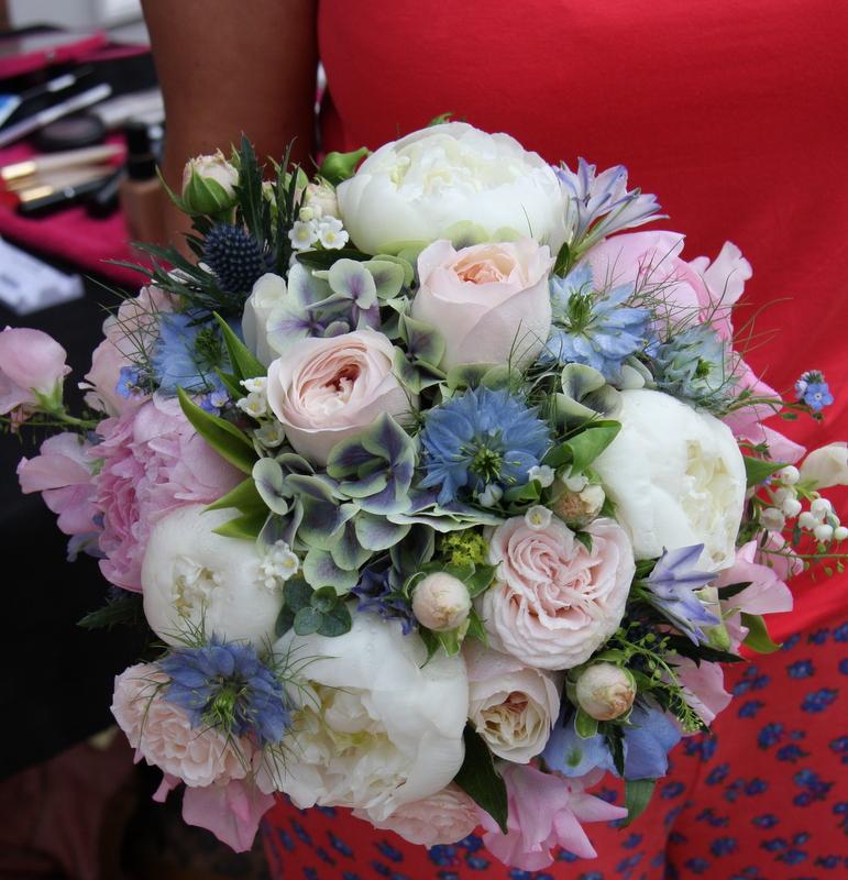 Laura Adam Smith S True Blue Wedding Day At Holy Trinity Church Freckleton The Grand Hotel Lytham St Annes