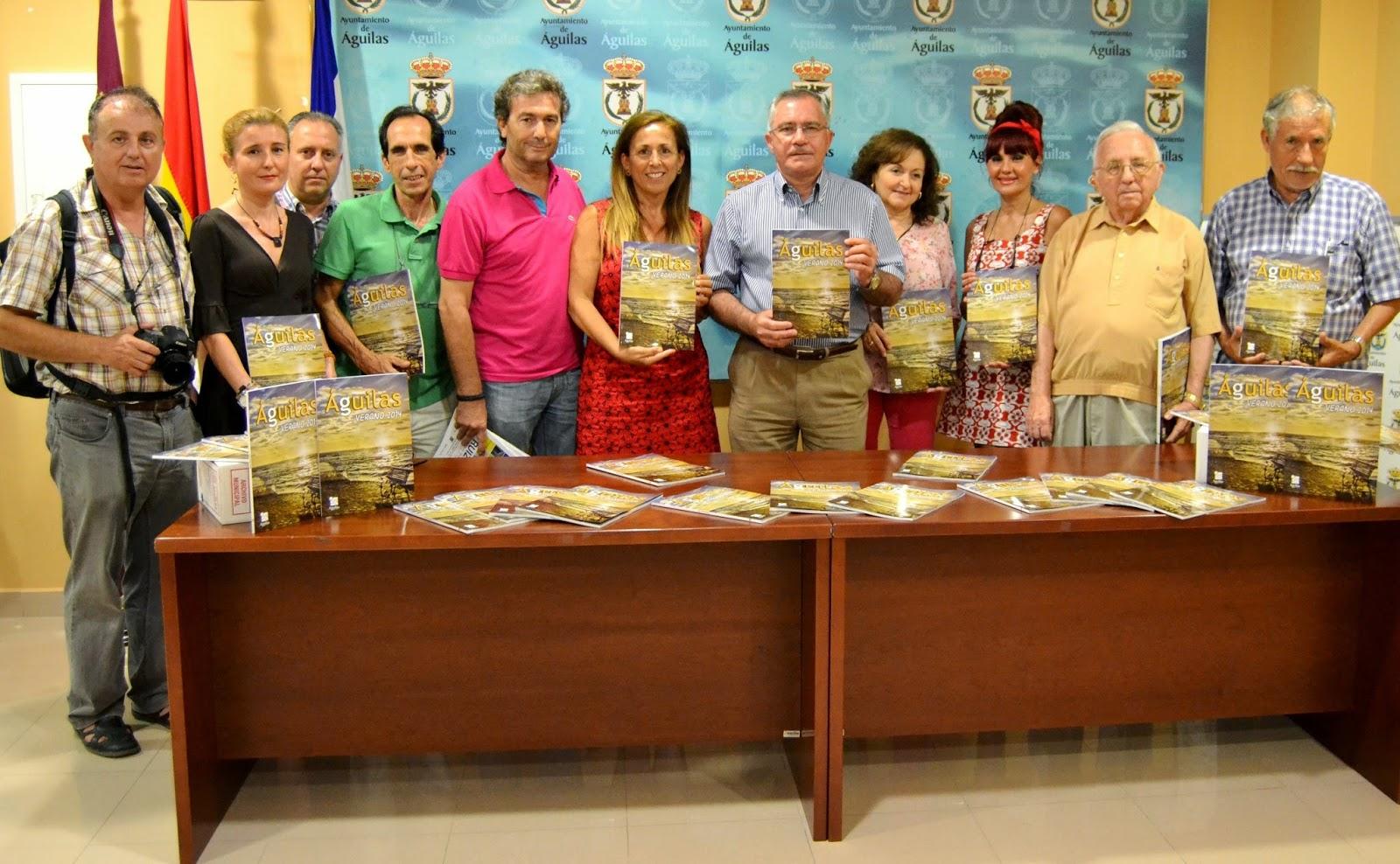 Guilas radio 91 4 fm el libro del verano 2014 ya est for Oficina turismo aguilas