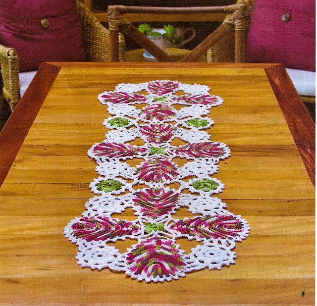 caminhos de mesa estilo barroco com gráficos | artemania