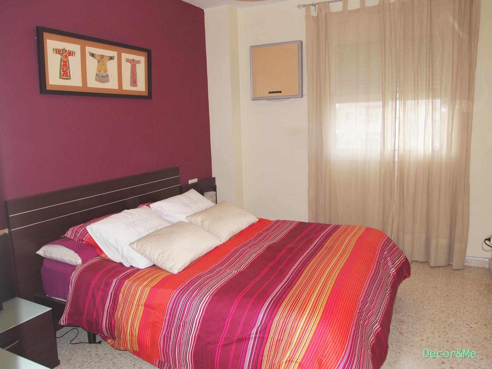 Decor me antes despu s mi dormitorio - Pintura para madera leroy merlin ...