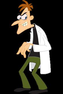Dr. Dofeenshmittz de phineas y ferb