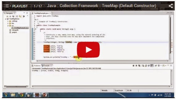 collection framework in java with example programs pdf