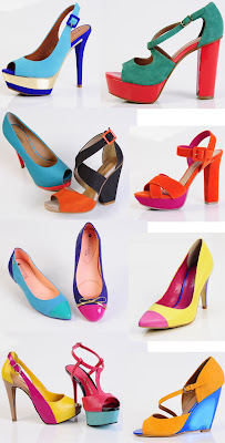 sapatos verão 2013, multicoloridos
