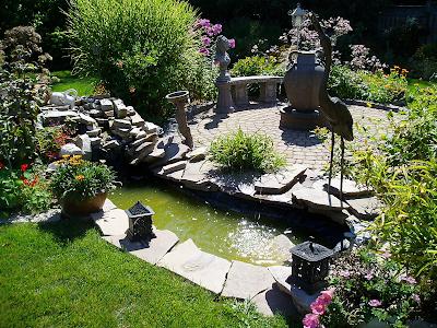 Backyard Landscape Plan vegetable garden than a flower garden for their