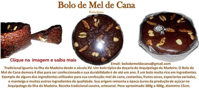 Bolo de Mel de Cana