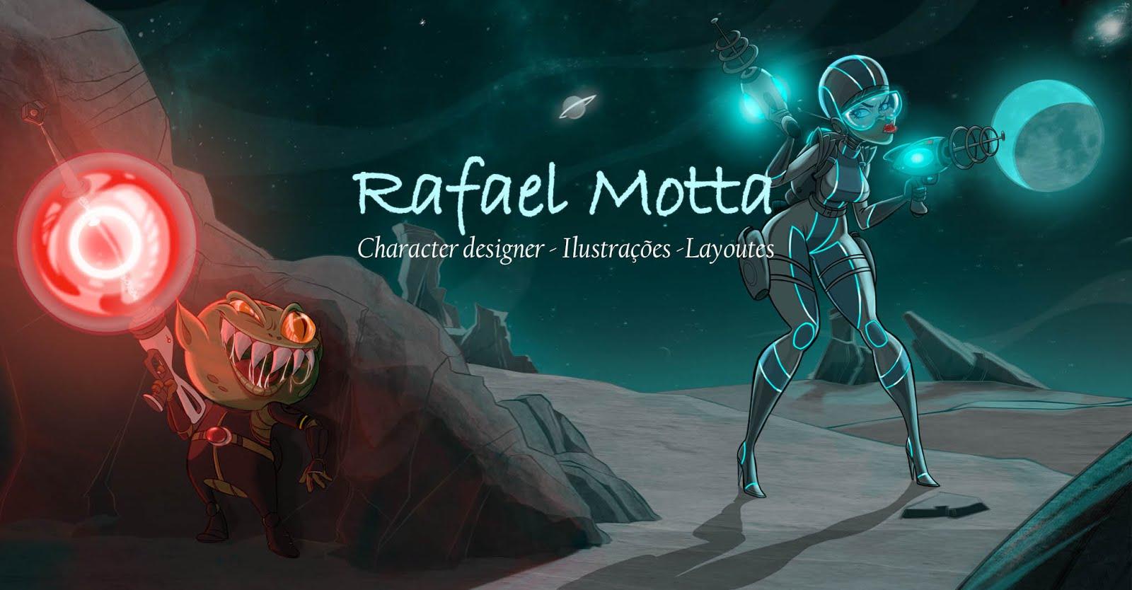 RAFAEL MOTTA - Character Designer - Ilustrações - Esboços