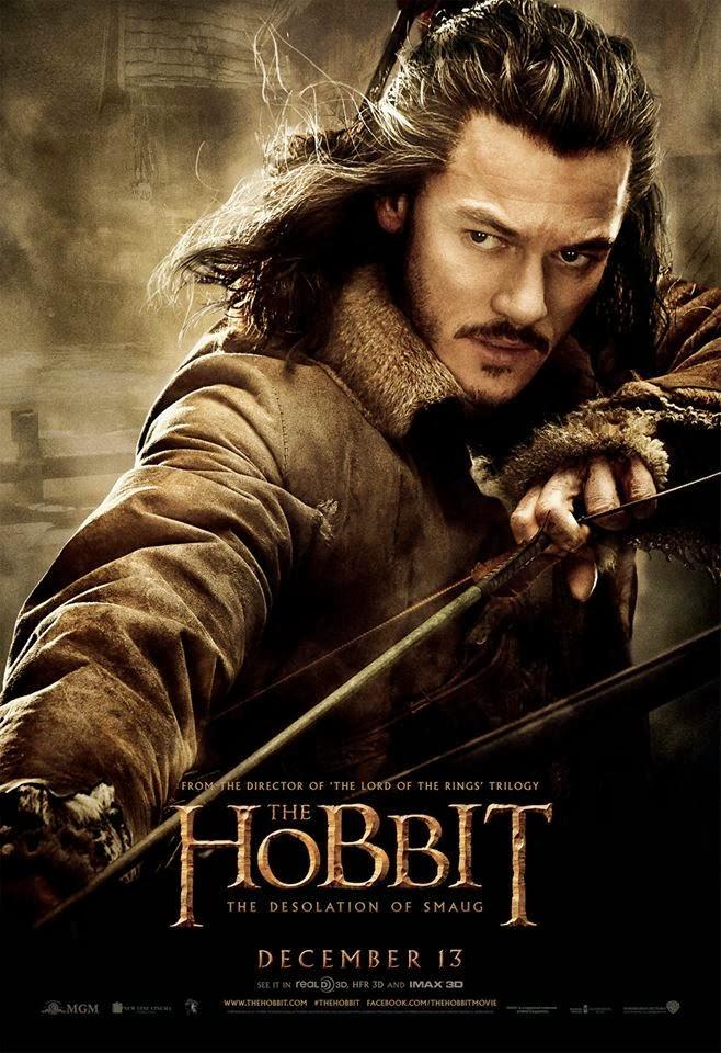 El Hobbit: la Desolación de Smaug - poster final Bardo