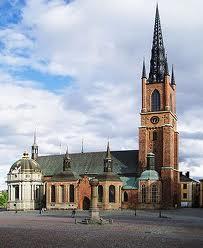 Riddarholmskyrkan o iglesia de la casa real