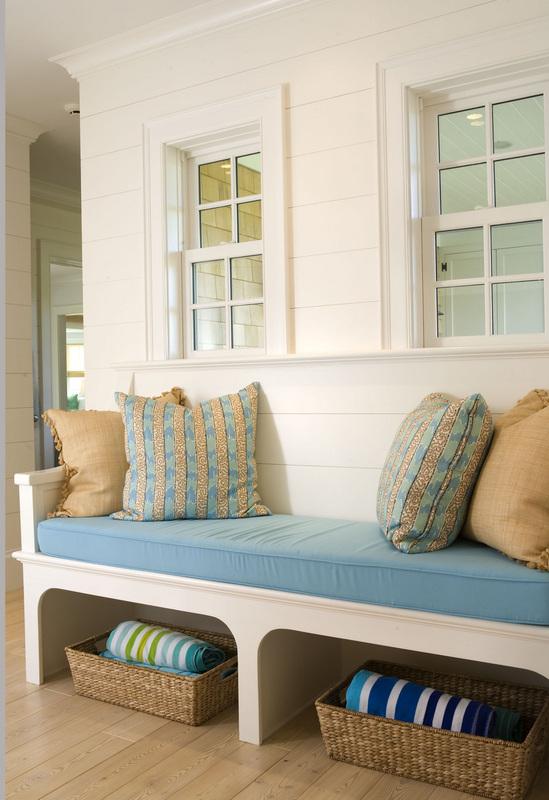 apartamento decorado, decoração de casa de praia