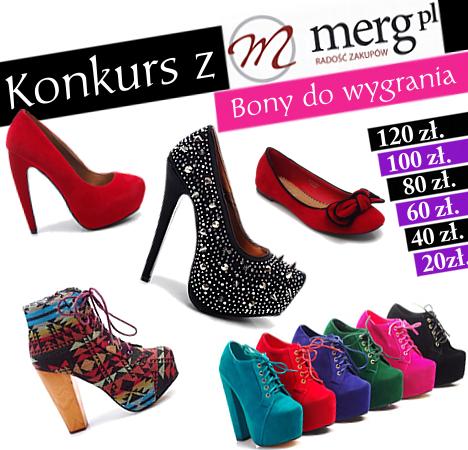 wygraj bon pieniężny na zakupy www.merg.pl ♥!