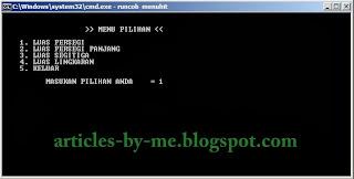 Contoh Program COBOL