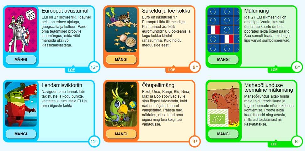 mängud lastele internetis