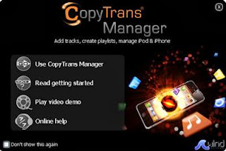 Download CopyTrans Manager 0.995 Free Portable Software