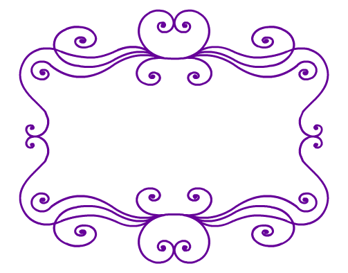 Swirl Frame Png Some Swirl Frames For