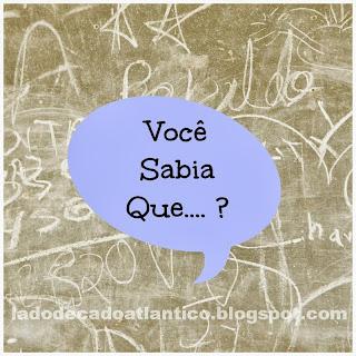 """imagem de banner de quadro negro com balão de diálogo em azul escrito """"Você Sabia Que... ?"""""""
