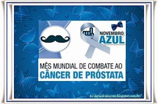 Novembro Azul (Apoio ao Câncer de Mama)
