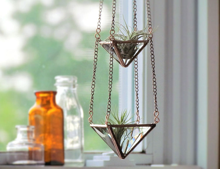 invernadero geometrico cristal