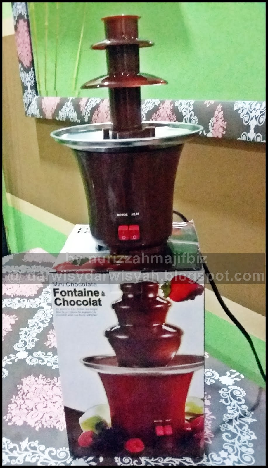 [FOR SALE] CHOCOLATE FOUNTAIN MACHINE MINI SIZE FOR 200 GM