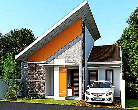 Gambar Model Desain Bentuk Atap Rumah Minimalis Sederhana